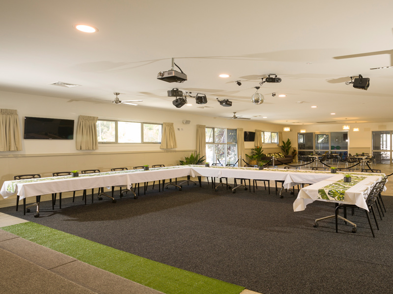 Activity Centre Meeting Setup at Ashmore Palms
