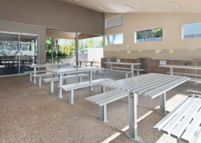 Barbecue Facilities at Ashmore Palms' Activity Centre