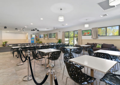 Ashmore Palms Activity & Conference Centre Seating