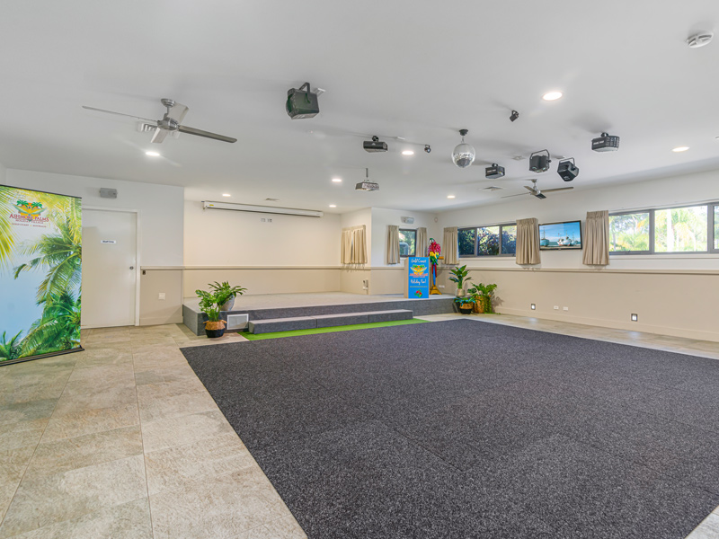 Ashmore Palms Activity & Conference Centre Stage & Dance Floor