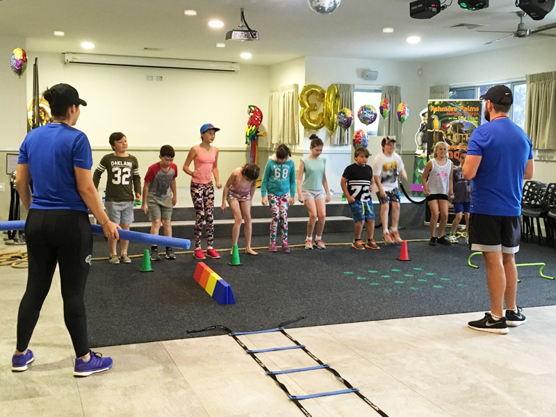 Kids' Mini Olympics at Ashmore Palms
