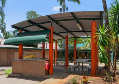 Barbecue Facilities at Ashmore Palms