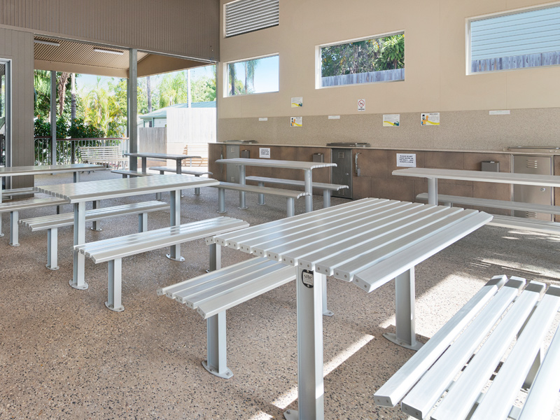 Activity Centre Barbecue Area at Ashmore Palms