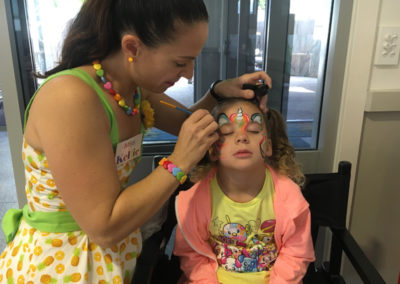 Face Painting at Ashmore Palms