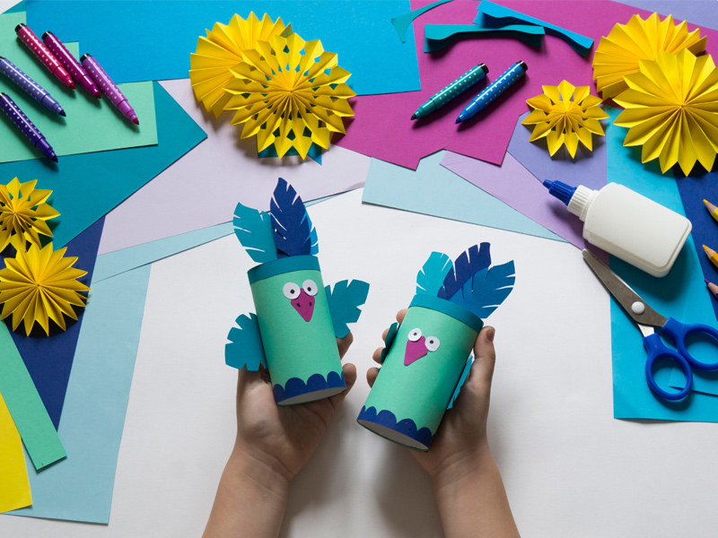 Kids' Craft Activity at Ashmore Palms