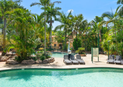 Tropical Lagoon Area at Ashmore Palms