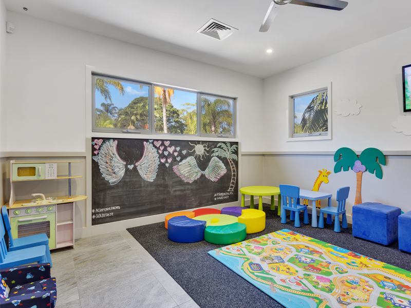 Toddler Playroom in Ashmore Palms' Activity Centre