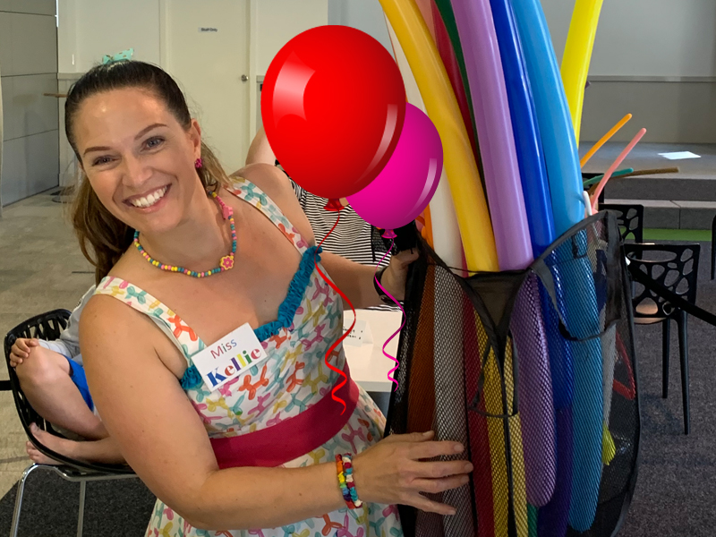 Balloon Mania Workshop with Miss Kellie