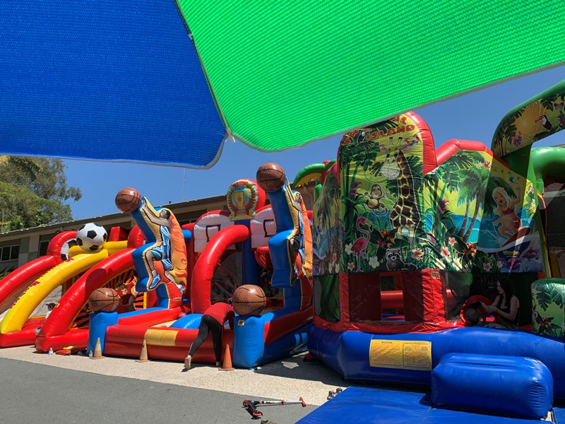 Inflatable Family Fun Zone - selected peak times