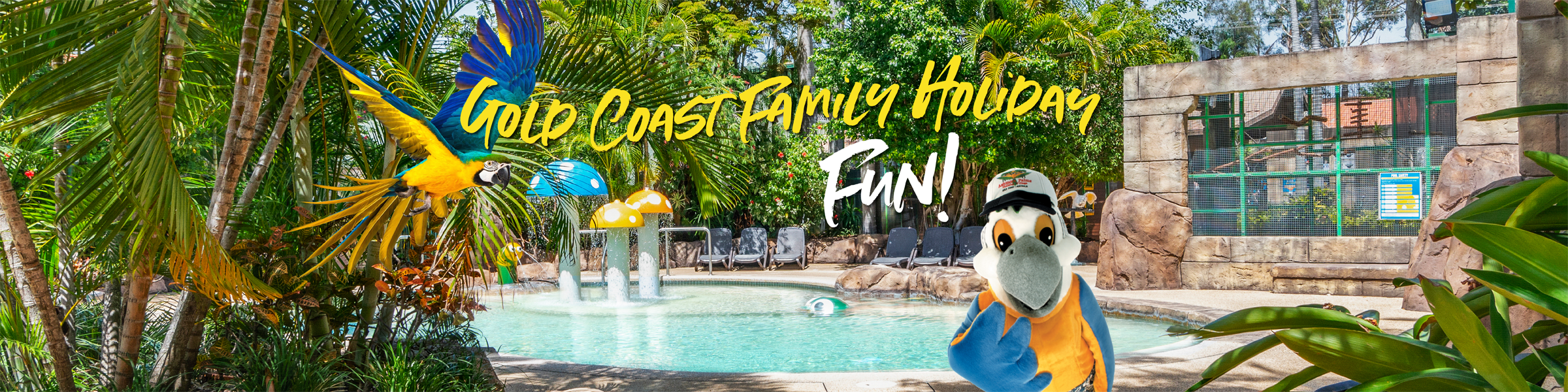 Ashmore Palms is a Gold Coast holiday park popular with familiies